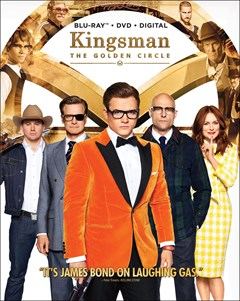 Kingsman: The Golden Circle Blu-ray Box Art
