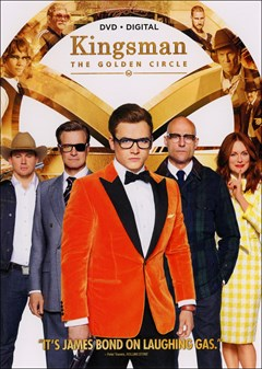 Kingsman: The Golden Circle DVD Box Art