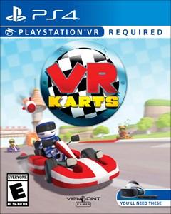 VR Karts PlayStation 4 Box Art