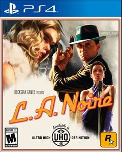 L.A. Noire PlayStation 4 Box Art