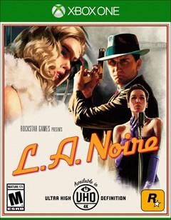 L.A. Noire Xbox One Box Art
