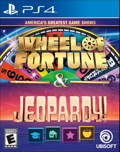 America's Greatest Game Shows: Wheel of Fortune & Jeopardy! PlayStation 4 Box Art