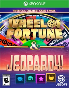 America's Greatest Game Shows: Wheel of Fortune & Jeopardy! Xbox One Box Art