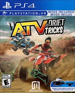 ATV Drift & Tricks PlayStation 4 Box Art