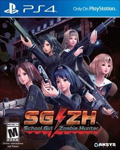 School Girl Zombie Hunter PlayStation 4 Box Art