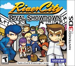 River City: Rival Showdown Nintendo 3DS Box Art
