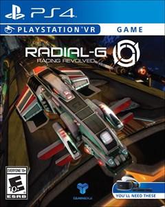 Radial-G: Racing Revolved PlayStation 4 Box Art