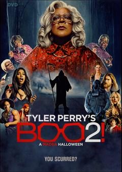 BOO 2!: A Medea Halloween DVD Box Art