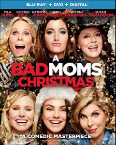 A Bad Moms Christmas Blu-ray Box Art