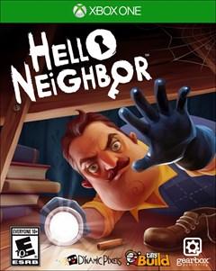 Hello Neighbor Xbox One Box Art