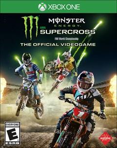 Monster Energy Supercross Xbox One Box Art