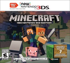 Minecraft (New 3DS XL Only) Nintendo 3DS Box Art
