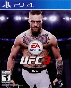 EA Sports UFC 3 PlayStation 4 Box Art