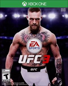 EA Sports UFC 3 Xbox One Box Art