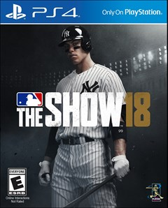 MLB The Show 18 PlayStation 4 Box Art