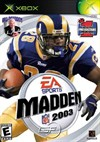 Rent Madden NFL 2003 for Xbox