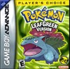 Rent Pokemon Leaf Green for GBA