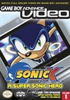 Rent Sonic X Volume 1 (GBA Video) for GBA