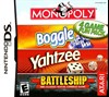 Rent Monopoly Boggle Yahtzee Battleship for DS