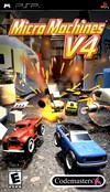 Rent Micro Machines V4 for PSP Games