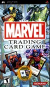 Rent Marvel Trading Card Game for PSP Games