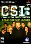 Rent CSI: 3 Dimensions of Murder for PS2