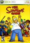 Rent Simpsons Game for Xbox 360
