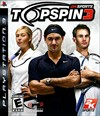 Rent Top Spin 3 for PS3