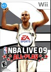 Rent NBA Live 09 All-Play for Wii