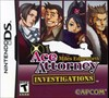 Rent Ace Attorney Investigations: Miles Edgeworth for DS