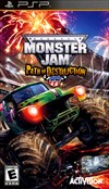 Rent Monster Jam: Path of Destruction for PSP Games