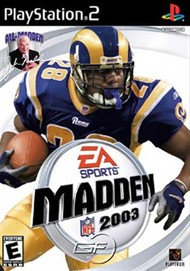 Rent Madden NFL 2003 for PS2