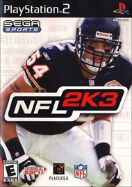 Rent NFL 2K3 for PS2