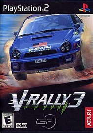 Rent V-Rally 3 for PS2