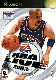 Rent NBA Live 2003 for Xbox