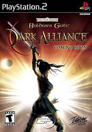 Rent Baldur's Gate: Dark Alliance for PS2