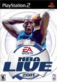 Rent NBA Live 2001 for PS2