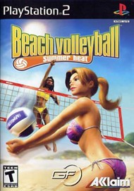 Rent Summer Heat Beach Volleyball for PS2
