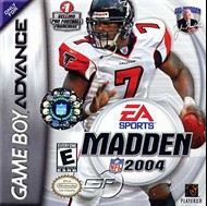 Rent Madden NFL 2004 for GBA