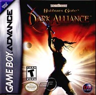 Rent Baldur's Gate: Dark Alliance for GBA