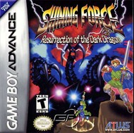 Rent Shining Force: Resurrection of the Dark Dragon for GBA