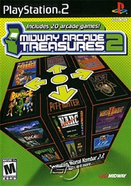 Rent Midway Arcade Treasures 2 for PS2