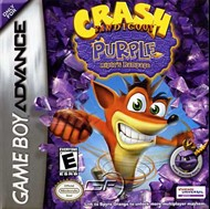 Rent Crash Bandicoot Purple: Ripto's Rampage for GBA