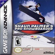 Rent Shaun Palmer's Pro Snowboarder for GBA