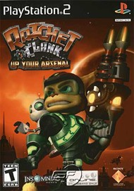 Rent Ratchet & Clank: Up Your Arsenal for PS2