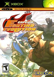 Rent Capcom Fighting Evolution for Xbox