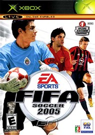 Rent FIFA Soccer 2005 for Xbox