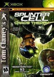 Rent Tom Clancy's Splinter Cell Chaos Theory for Xbox