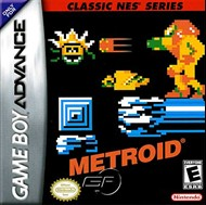 Rent Classic NES Series: Metroid for GBA