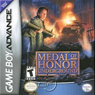 Rent Medal of Honor Underground for GBA